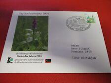 Tag der Briefmarke Breitblättriges Knabenkraut  SSt Sindelfingen  30.10.1994 BE2