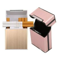 Tabakhalter Aluminium Pocket Box Zigarettenetui & Feuerzeug Vorratsbehälter 20