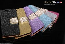 """GLITTERY diamond bling wallet case cover for iPhone 6 Plus 5.5"""" 