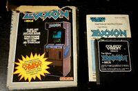 Atari 2600 Zaxxon Complete In Box CIB