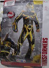 Disguise Transformers Bumblebee Costume Size Large 10-12 NIP