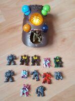 Rare Gormiti Transformer Wrist Guard Plus Extra 12 Mini Figures Giochi Preziosi