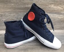 Converse Chuck Taylor AS Hi Sneakers W9/M7 Red White Blue Fashion Tennis Shoes