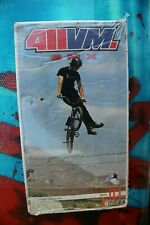 411 VM Video Magazine BMX Volume 1 Premier Rare (Damaged Case) Sealed VHS Tape