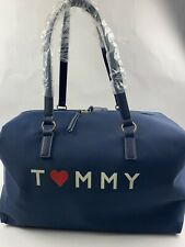 Tommy Hilfiger Unisex Navy Large Travel Weekender Bag NWT