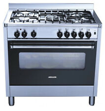 Heller 900mm Freestanding Electric Oven With Gas Hob HGH90S+Converter Kit-NEW!