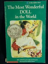 The Most Wonderful Doll in the World by Phyllis McGinley PB illustrated 1978
