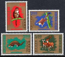 China Taiwan 1716-1719, Mnh. Taiwan Animals: Monkey,Squirrel,Pangolin, Deer, 1971