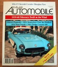 COLLECTIBLE AUTOMOBILE 1991 JUNE - '56-57 VETTE SPECIAL, STOUT SCARAB, 454 SS