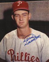 Don Demeter 1961-1963 Philadelphia Phillies Autographed Signed 8x10 Photo COA