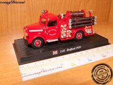 FIRE TRUCK BEDFORD 1939 CITY OF LIVERPOOL 1:43 FIREMAN