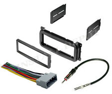 COMPLETE CAR STEREO RADIO INSTALLATION TRIM KIT CD PLAYER + WIRING HARNESS + ANT
