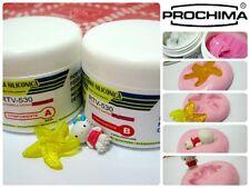 1 Kg Gomma Siliconica Prochima RTV 530 1 Stampini Silicone Formine Fimo Resina