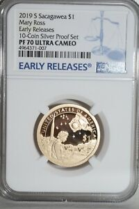 2019-S Sacagawea-Mary Ross Dollar NGC PF-70 Ultra Cameo Early Releases