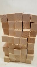 "40 pcs 3/4"" x 3/4"" x 10"" Basswood Craft Lumber Carving Wood Blocks *Kiln Dried*"