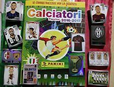 Album Calciatori 2016 2017 panini con SET COMPLETO+aggiornamento e film 1, 2 e 3