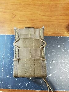 HSGI Taco Single Rifle Mag Pouch with Malice Clip Pre-owned Great Condition