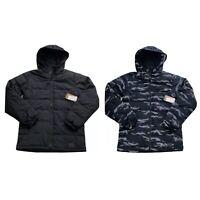 Vans Woodrcrest MTE Hooded Puffer Jacket Black Reflective VN0A2X5UKIF NWT Mens M