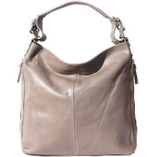 Borsa a spalla Cuoio Pelle Leather Shoulder Bag Italian Made In Italy 3013 gr