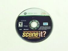 Scene It Bright Lights Big Screen (Xbox 360) Disc Only with Generic Case
