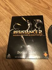 Resistance 2 Collectors Edtiion Bonus Disk Ps3 Not For Resale VC4