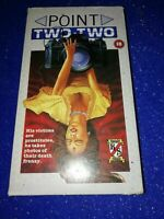 RARE VHS TAPE 'POINT TWO TWO' MOULD ON TAPE PRE CERT HORROR