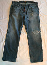 Lucky Brand Men's Designer Jeans 34/32 361 Straight Leg Blue