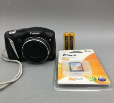 Canon PowerShot 12.1MP SX130IS w/ Scandisk 2GB Memory Card - Fast Shipping - F06