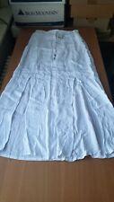 Splendid NWT $118 Ray Crinkle Gauze Maxi Skirt White XS