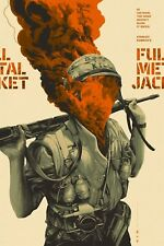 Full Metal Jacket Oliver Barrett Mondo Movie Poster Kubrick Art Print