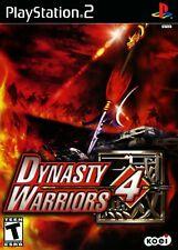 Dynasty Warriors 4 [PlayStation 2 PS2 Koei 3 Kingdoms Guanyu Lei Bei Lu Bu] NEW