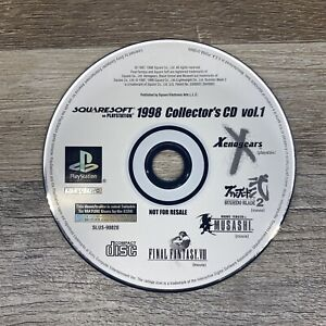 1998 Collectors CD Vol.1 Final Fantasy VIII (Sony Playstation 1 PS1) Disc Only