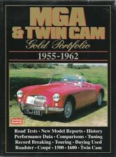 MG MGA 1500 1600 TWIN CAM & MK2 COUPE / ROADSTER 1955-62 PERIOD ROAD TESTS BOOK