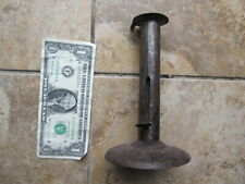 Early Antique Colonial Sliding Candle Holder, Revolutionary War, Hogscraper Gift