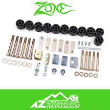 "Zone Offroad 1.25"" Body Lift Kit 97-06 Jeep Wrangler TJ J9120"