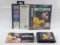 David Cup World Tour Mega Drive Sega Complete PAL