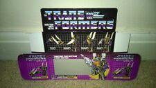 Transformers contragolpe serie G1 (solo Caja)