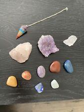 chakra crystal set