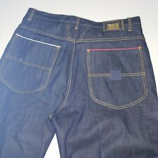 Marithe Francois Girbaud Dark Wash Casual Jeans Baggy Hip Hop Mens Size 38M x 33