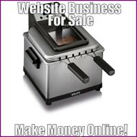 FRYERS Website Business Earn $73.66 A SALE|FREE Domain|FREE Hosting|FREE Traffic