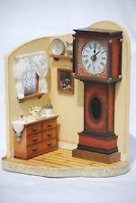 Goebel Grandfather Clock Display Dated 2005
