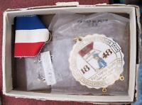 IVV AVA 1991 Volksmarch Award Medal Volkssport Fredricksburg Texas Hiking Club