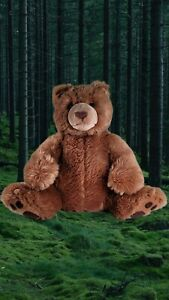 """GUND Grizzly Bear Plush Kohl's Cares For Kids 13"""" high x 15"""" wide"""