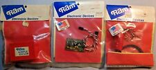 Lot of 3 Ram Electronic Devices #49 #62 #22, Igniter Glo Driver, Servo Fail-Safe