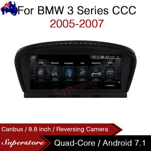"8.8"" Quad Core Car GPS Android 10.1 For BMW 3 Series CCC E92 E90 E91 05-07"