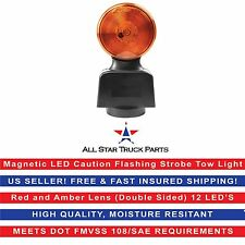 Magnetic Yellow Red LED Caution Flashing Strobe Tow Light Inter: Blazer C42A