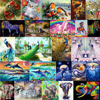 DIY 5D Animals Diamond Painting Embroidery Cross Stitch Kit Handicraft Art Decor