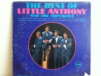 LITTLE   ANTHONY  & THE  IMPERIALS           LP   THE  BEST  OF