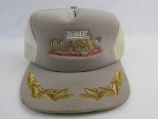 Zebco Classic American fishing reel Gray corduroy trucker hat snapback