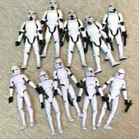 10x OTC Trilogy Stormtroopers & No.5 Clone Trooper 3.75'' Figures Toy